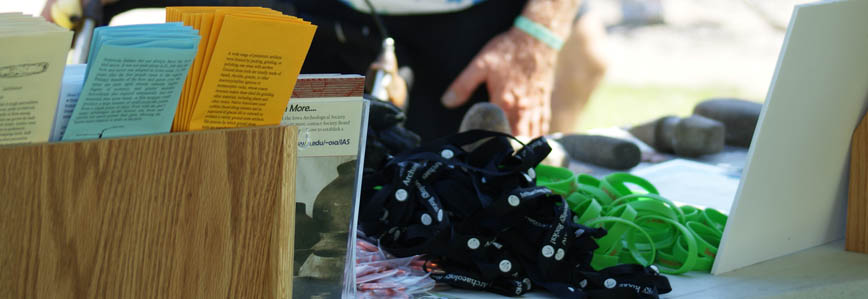 Booklets, lanyards, carabiners, and bracelets