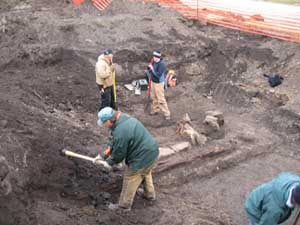 Excavating a Railroad Feature