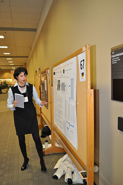 Meagan Presenting at ICRU Research Festival December 2010