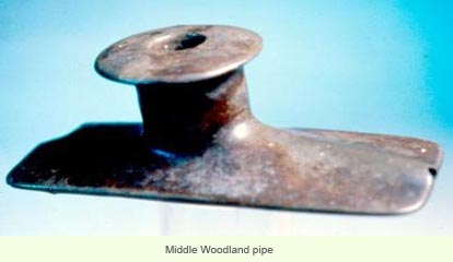 Middle woodland pipe