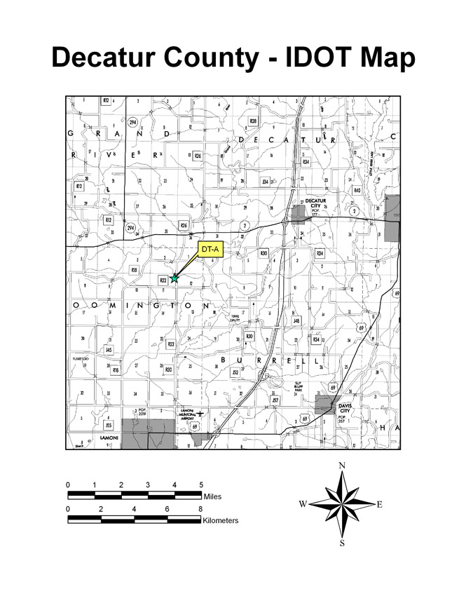 Decatur County - IDOT Map