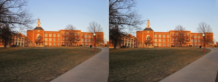 Iowa City High stereophoto