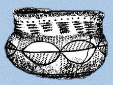 Decorated pot
