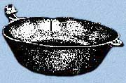 Mill Creek effigy-handled bowl