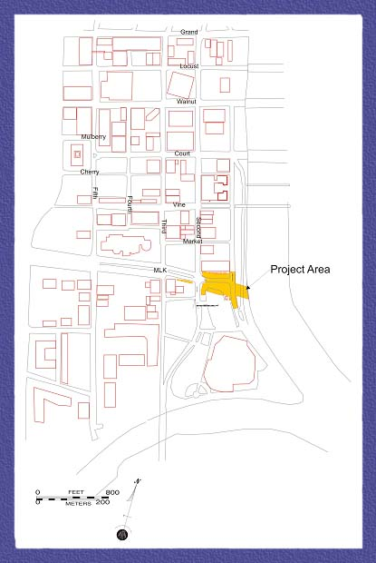 Additional maps of fort des moines archaeology site for Site de location