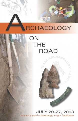 2013 Archaeology on the Road Booklet Cover