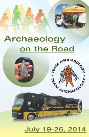 2014 Archaeology on the Road Booklet Cover