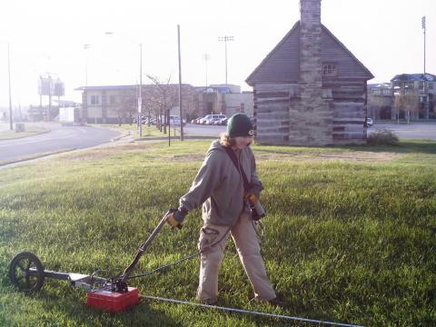 Ground Penetrating Radar at the Fort Site
