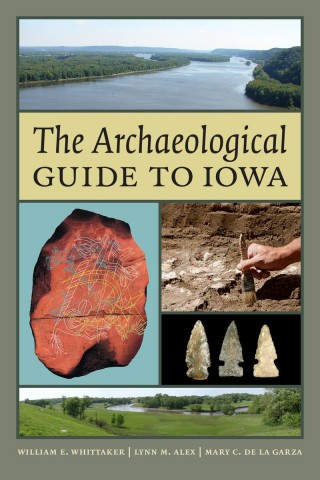 The Archaeological Guide to Iowa book cover