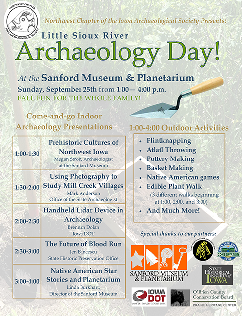 Sanford Museum Archaeology Day