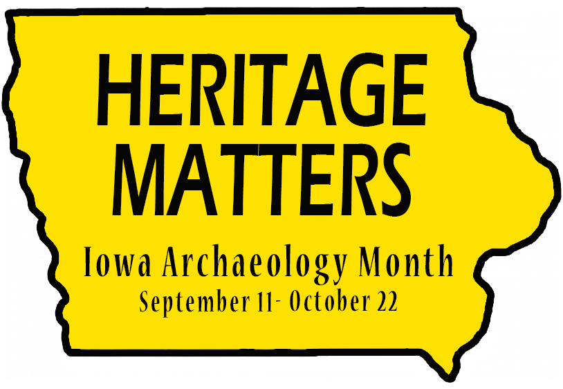 Iowa Archaeology Month 2016 Logo